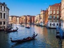 Gondola trip Royalty Free Stock Images