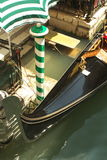 gondola venetian Zdjęcia Royalty Free