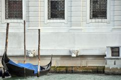 Gondola and Venetian Architecture Royalty Free Stock Photos
