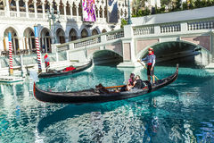 Gondola at the Venetian Resort  Royalty Free Stock Photo