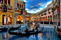 Gondola at Venetian Royalty Free Stock Images