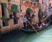 Gondola a Venezia Fotografia Stock