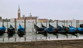 Gondola at Venezia Stock Photo