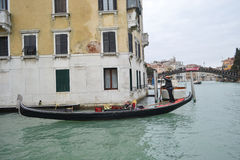 Gondola a Venezia, Italia Fotografia Stock