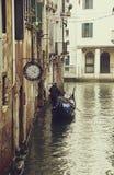 Gondola veneziana Fotografia Stock Libera da Diritti