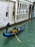 Gondola veneziana Fotografie Stock
