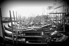 Gondola in Venica Immagine Stock