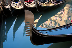 Gondola in venice Stock Images