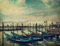 Gondola. Venice Royalty Free Stock Image