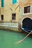 gondola Venice obraz stock