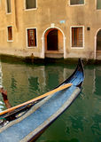 Gondola in Venice. In the evening Royalty Free Stock Photography