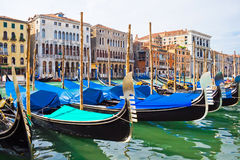 Gondola in Venice Stock Photography