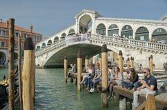 Gondola in Venice canal, Italy Royalty Free Stock Photography