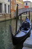 Gondola in Venice. Royalty Free Stock Photo