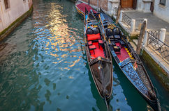 Gondola on Venice canal Royalty Free Stock Photos