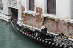 Gondola in Venice Royalty Free Stock Image
