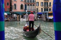 Gondola in Venice, Italy. Gondola in the Venice, Italy Stock Photos