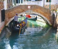 Gondola in Venice, Italy. Gondola in the Venice, Italy Stock Images