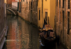 Gondola in Venice,Italy Stock Photography