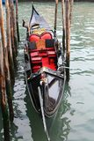 Gondola of Venice Italy. A real nice gondola of Venice Italy stock images