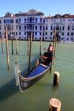 Boat in Venice, Italy. Gondola in the Venice, Italy Royalty Free Stock Images