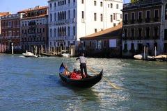 Boat in Venice, Italy. Gondola in the Venice, Italy Stock Photo