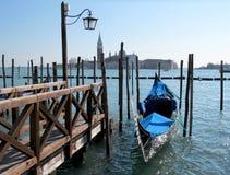 Gondola in Venice, Italy. Characteristic gondola in Venice, Italy Royalty Free Stock Photos