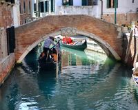Gondola in Venice, Italy. Gondola in the Venice, Italy Royalty Free Stock Image