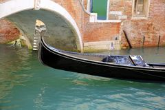 Gondola in Venice, Italy. royalty free stock image
