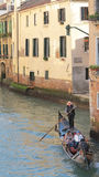 Gondola on venice, italy Royalty Free Stock Photo