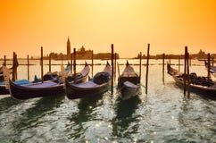 Gondola in Venice,Italy Stock Photography