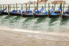 Gondola in venice in Italy Stock Images