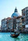 Gondola in Venice. Gondola ride in Venice  , Italy Royalty Free Stock Photography