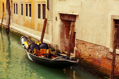 Gondola in Venice Royalty Free Stock Photos