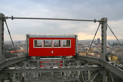Gondola of the Vienna Prater Wheel Stock Image