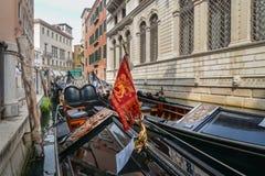 Gondola w górę zakończenia fotografia royalty free