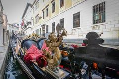 Gondola w górę zakończenia zdjęcie stock