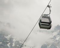 Gondola w Skalistych Górach Zdjęcia Royalty Free