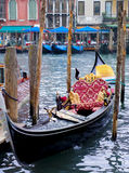 Gondola w Wenecja, Włochy Obrazy Royalty Free