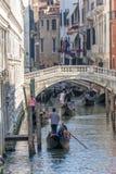 Gondola w Wenecja, Włochy Obraz Stock