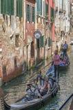 Gondola w Wenecja, Włochy Obraz Royalty Free