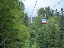 Gondola in Sinaia, Romania Stock Photos