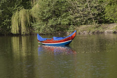 Gondola, Wenecja łódź Obrazy Royalty Free