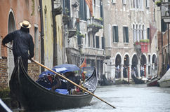 gondola Wenecji Zdjęcie Stock