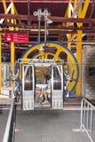 Gondola wspinać się Titlis obrazy royalty free