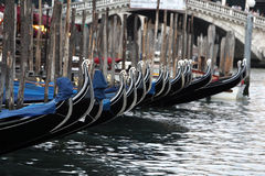 Gondolas Royalty Free Stock Image
