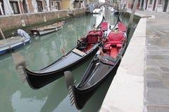 Gondolas. Some wide pics from Venice - Italy Stock Photo