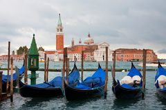 Gondolas Royalty Free Stock Images