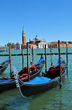 Gondolas Royalty Free Stock Photography