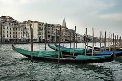 Gondolas. Venice Stock Photo